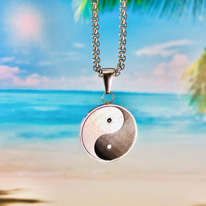 """Yin Yang"" Pendant Necklace BeStrong"