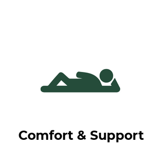 Naturenite latex bedding - comfort and support