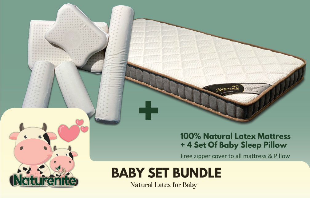 Baby Bedding | Full Set Bundle With Mattress