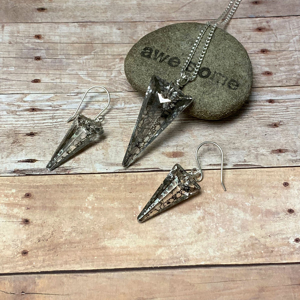 SPIKE NECKLACE EARRINGS - BECOMING WHOLE TALISMAN