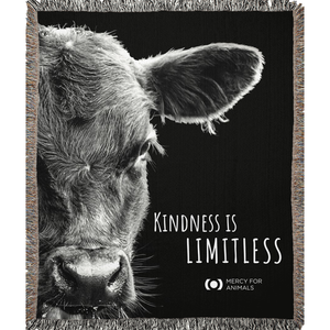 'Kindness' Throw, Calf | ShopMFA.com