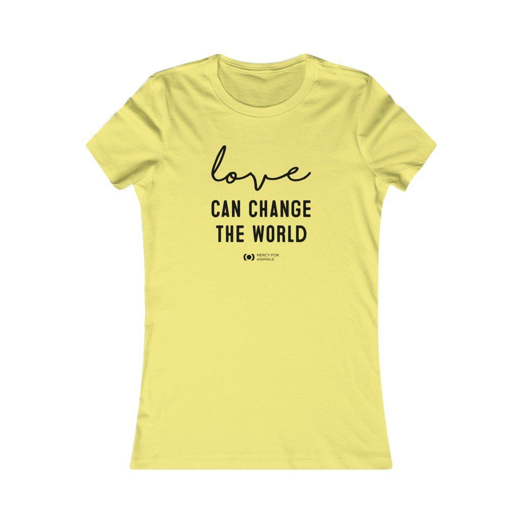 'Change the World' T, Fitted, Dark Print
