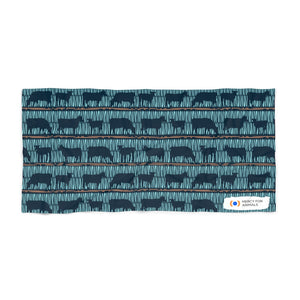 Wow Cow Beach Towel