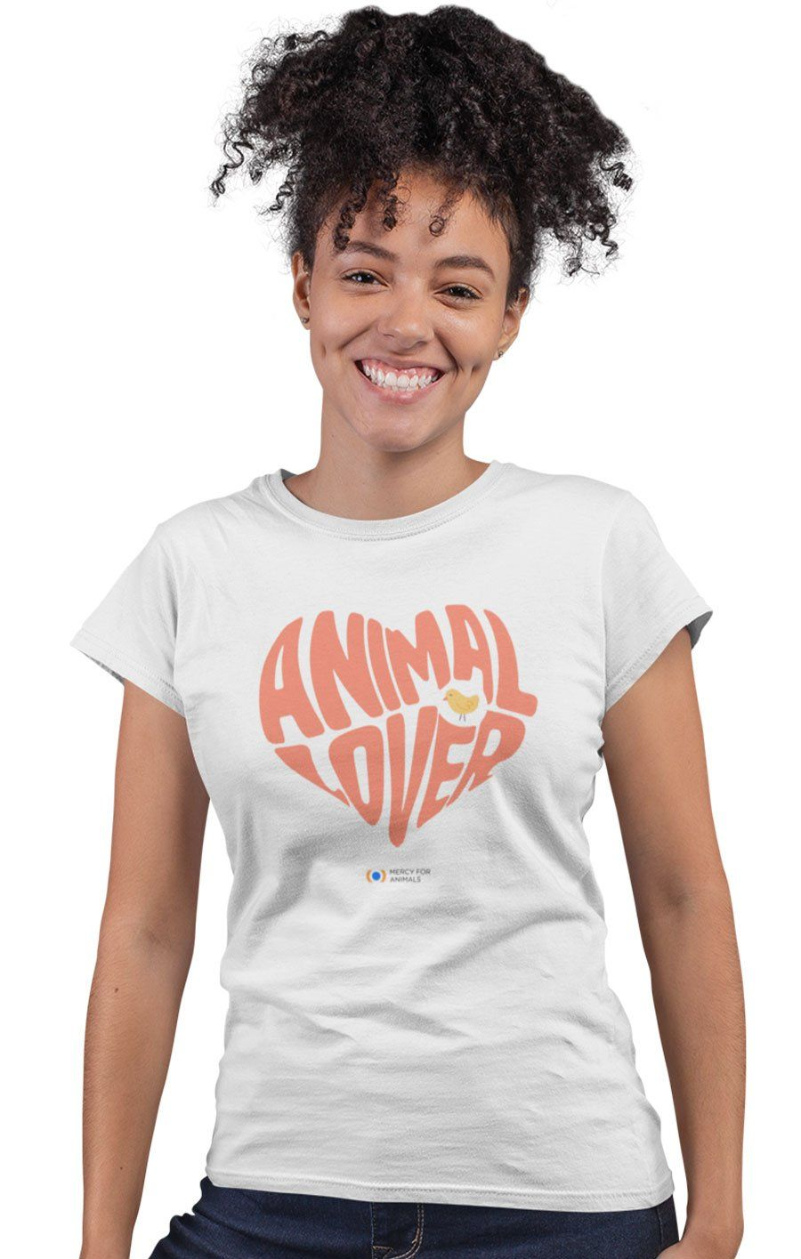 'Animal Lover' T, Fitted
