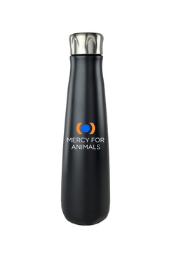 Mercy For Animals Insulated Water Bottle | ShopMFA.com