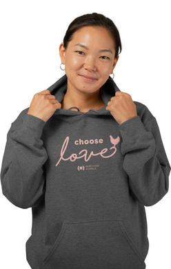 'Choose Love' Pullover Hoodie