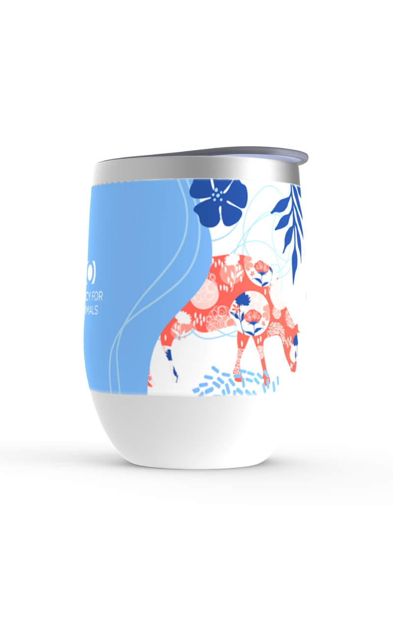 Blue Moo Insulated Tumbler