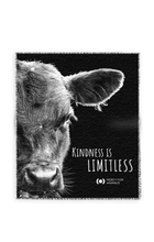 'Kindness' Throw Blanket - Calf
