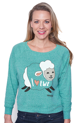 'Heart Ewe' Long Sleeve T | ShopMFA.com