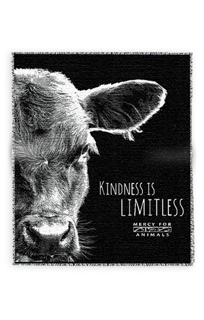 'Kindness' Throw Blanket | ShopMFA.com