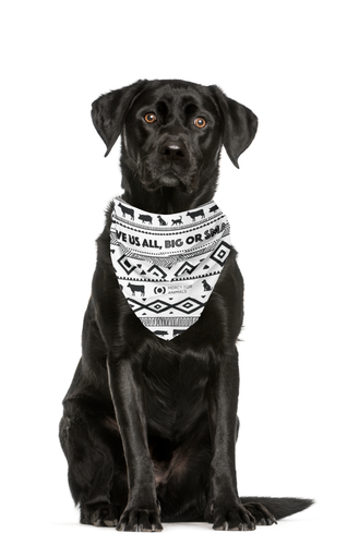 'Love Us All' Animal Bandana