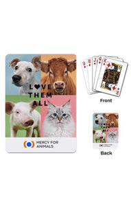 'Love Them All' Playing Cards