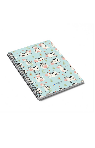 Merry Moo's Spiral Notebook
