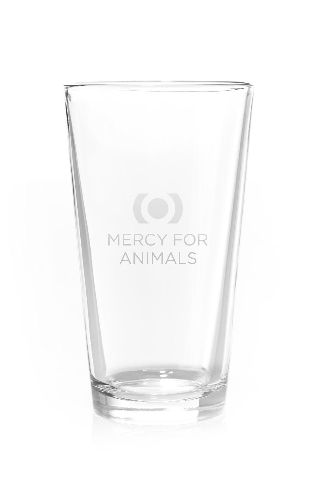 Mercy For Animals Pint Glass | ShopMFA.com