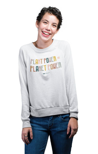 'Powered' Sweatshirt