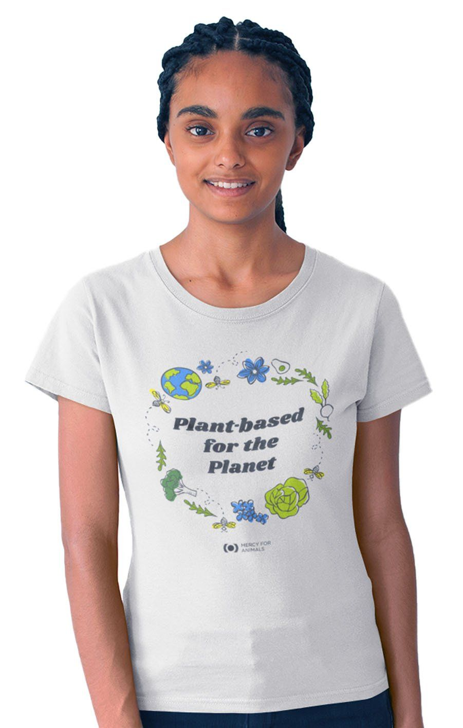 'For the Planet' Organic T, Fitted
