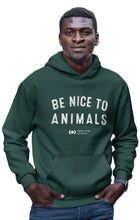 'Nice to Animals' Pullover Hoodie, Limited Edition