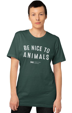 'Nice to Animals' T, Limited Edition