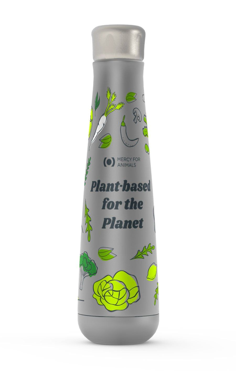 'For the Planet' Insulated Water Bottle