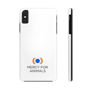 Mercy For Animals Phone Case, White