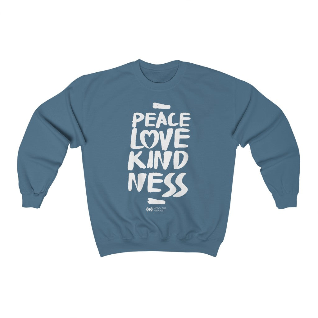 'Peace' Crewneck Sweatshirt