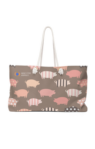 Patchwork Pigs Weekender Bag | Printify
