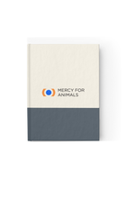 Mercy For Animals Color-bBock Journal - Grey/Blank | ShopMFA.com
