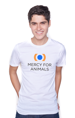Mercy For Animals Logo T - White