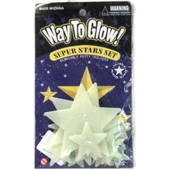 Glow in The Dark Star Set