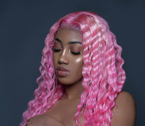 Star Burst Colored Wig
