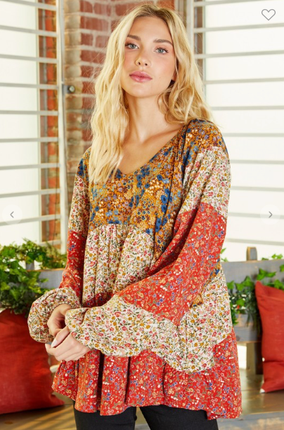 Maybelle Boho Top