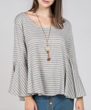 Lucy Bell Sleeve Top
