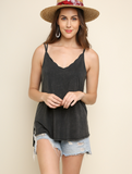 Scalloped Neck Tank Top