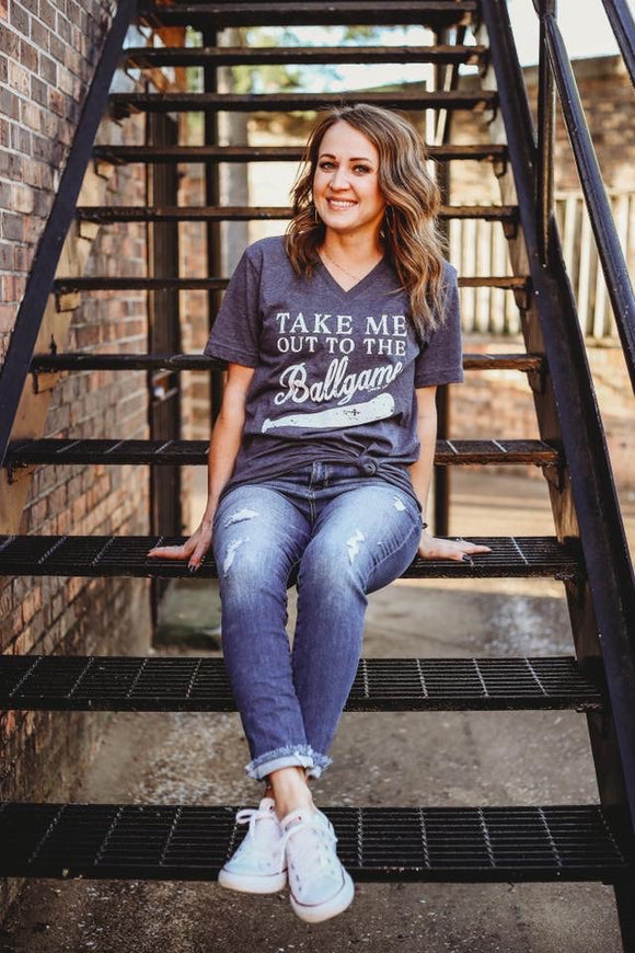 Take Me Out To The Ballgame Tee