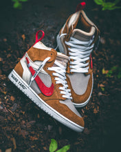 "Load image into Gallery viewer, Mars Yard Off White AJ1 ""Powered by VeChain ToolChain"" - Chase Shiel"