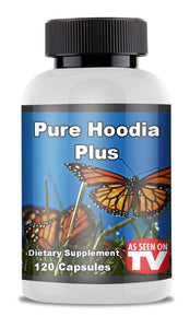 Pure Hoodia Plus - As Seen On TV - Dietary Supplement - Free Shipping USA Only