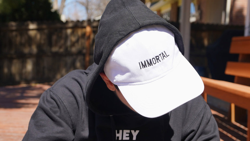 Immortal Dad Hat - White