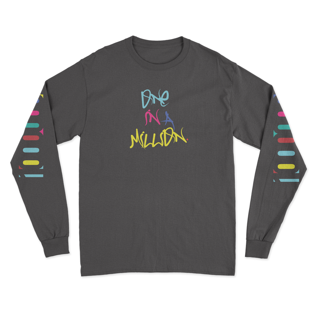"Spencer ""One in a Million"" Long Sleeve Black"