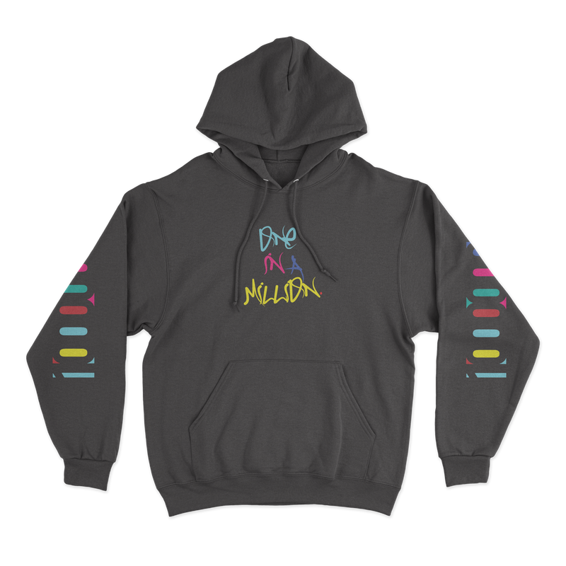 "Spencer ""One in a Million"" Hoodie Black"