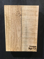 "7"" X 10"" Vertical Natural Craft Board"
