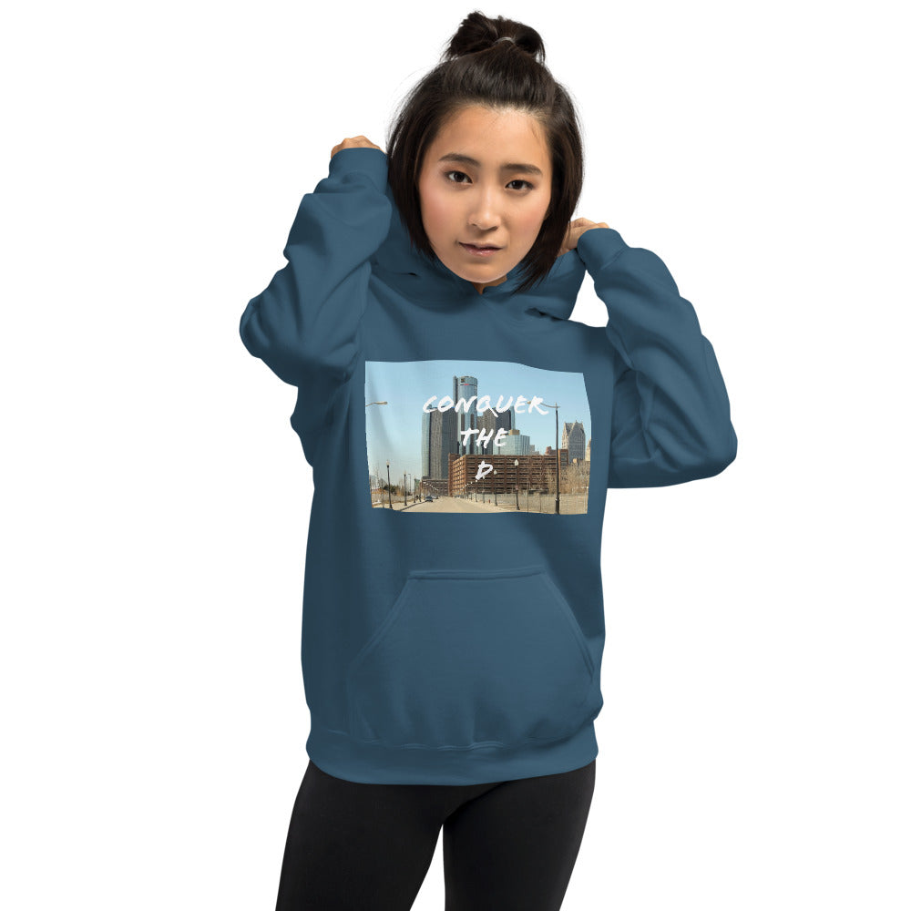 Conquer The D Color Hoodie