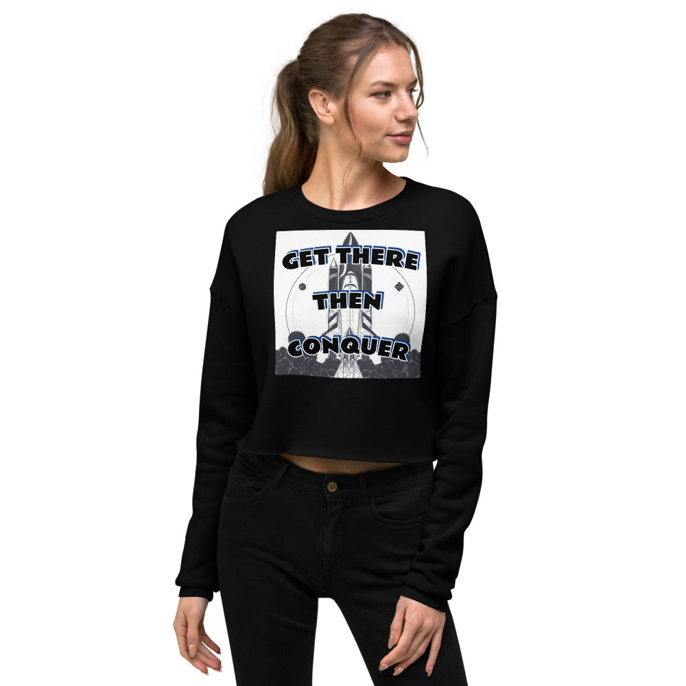Women Orbit Conquer Crop Sweatshirt