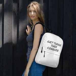 get-there-then-conquer - GTTC Backpack - GET THERE THEN CONQUER -
