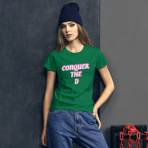 Conquer The D Print Women's t-shirt