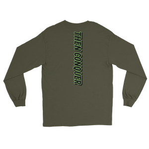 Facing Down Conquer Long Sleeve T-Shirt