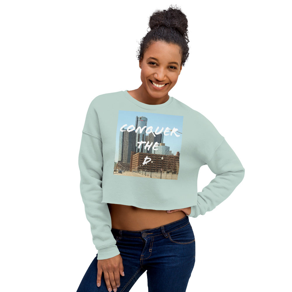 Conquer The D Crop Sweatshirt