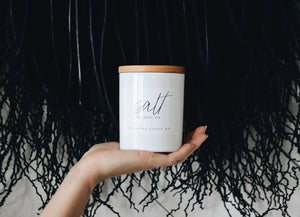 - Salt Trading Co - Large Lifestyle Candle - wild-gypsea-collective-home