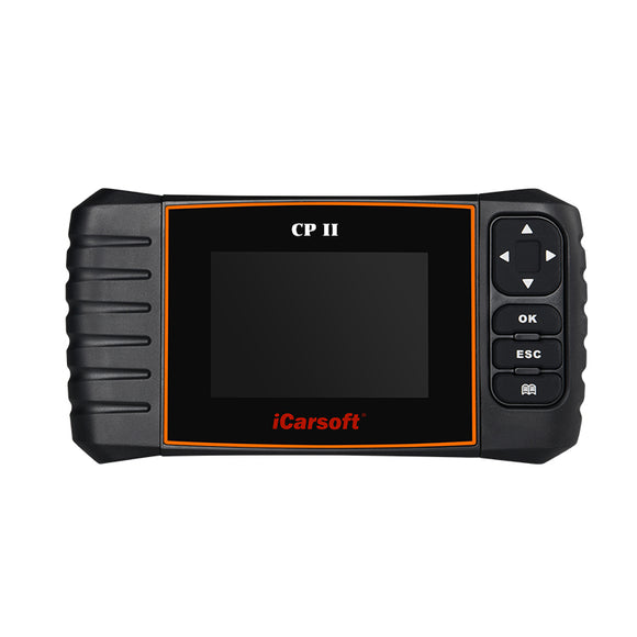 iCarsoft CP II Fault Diagnostic Tool Airbag ECU SRS Service OBD2 II For Citroen and Peugeot, Car Diagnostic Tool, iCarsoft, ljmcardiagnostics, icarsoft, car scanner