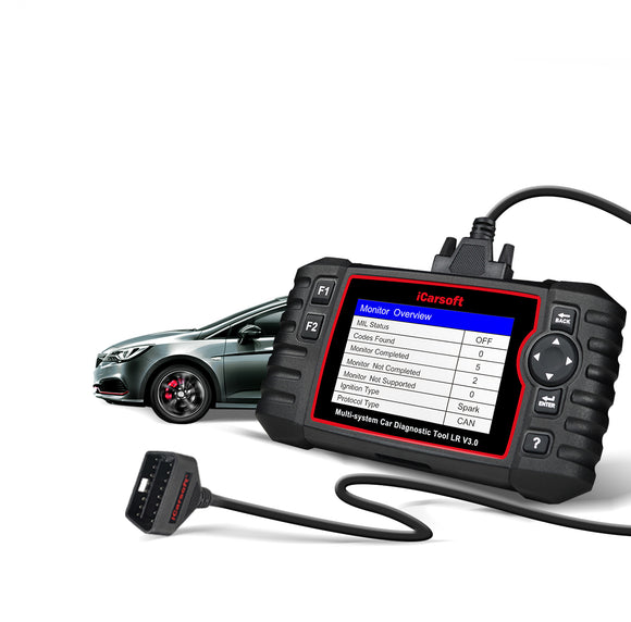 iCarsoft LR V3.0 - Land Rover & Jaguar Professional Diagnostic Tool