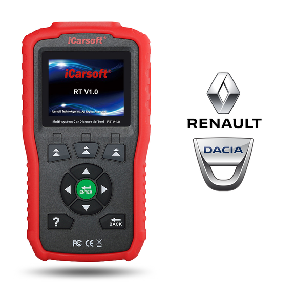 iCarsoft RT V1.0 - Dacia & Renault Diagnostic Tool